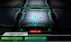 Leeches in Starship Damrey for Nintendo 3DS