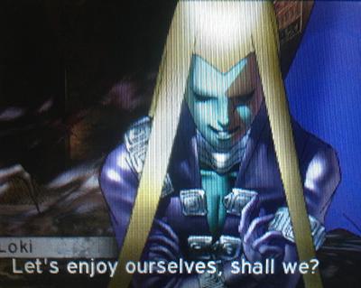 Loki in Shin Megami Tensei IV: Apocalypse
