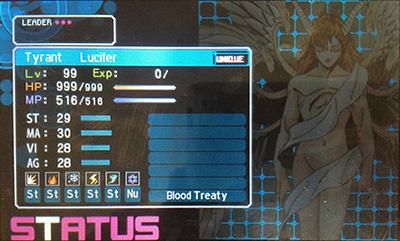 Lucifer in Devil Survivor 2 Record Breaker