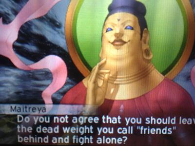 Maitreya - Shin Megami Tensei IV: Apocalypse