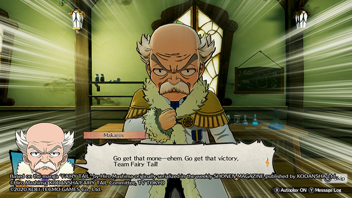 Makarov from Fairy Tail (Nintendo Switch Game)