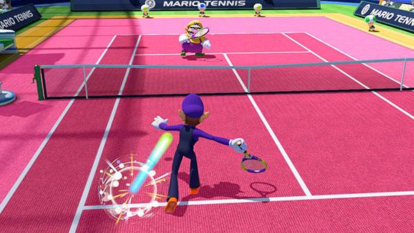 Waluigi - Mario Tennis Ultra Smash Gameplay