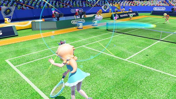 Female Character - Mario Tennis Ultra Smash Gameplay
