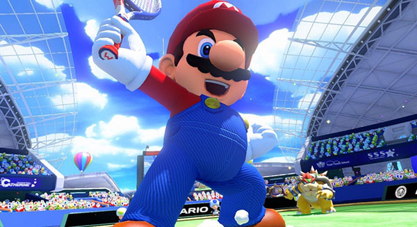 Mario - Mario Tennis Ultra Smash Gameplay