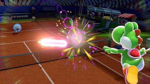 Yoshi - Mario Tennis Ultra Smash Gameplay