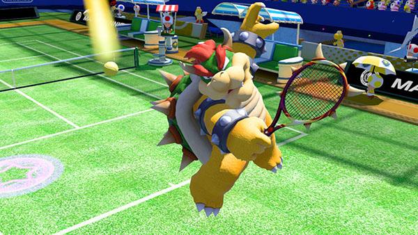 Bowser - Mario Tennis Ultra Smash Gameplay
