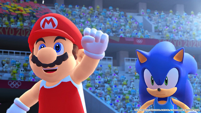 Mario and Sonic from Mario & Sonic at the Olympic Games Tokyo 2020