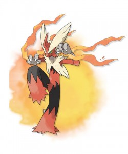 Mega Blaziken - Pokemon X and Pokemon Y