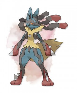 Mega Lucario - Pokemon X and Pokemon Y
