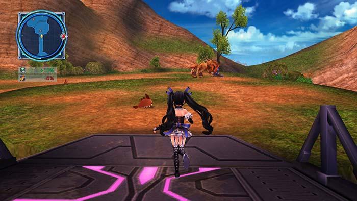 Enemies in the Overworld of Megadimension Neptunia VII