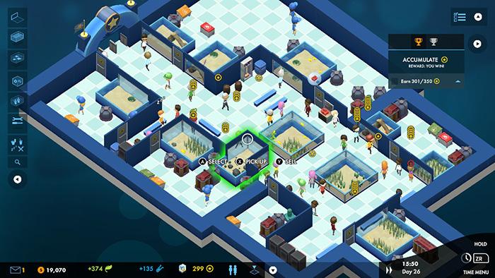 Megaquarium Gameplay