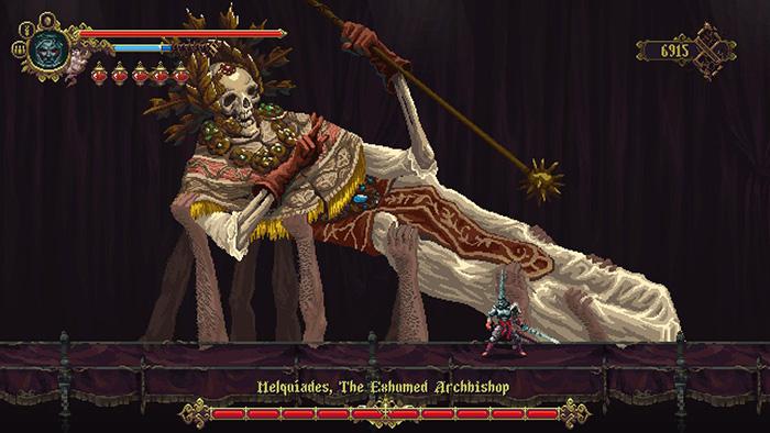 Melquiades in Blasphemous