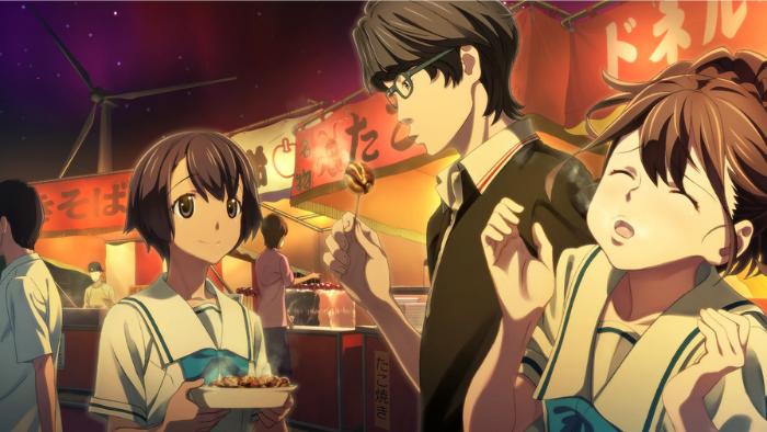 Members of the Robotics club enjoy takoyaki at a festival in Robotics;Notes Elite