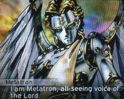 Metatron's in Shin Megami Tensei IV: Apocalypse