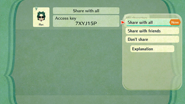 Miitopia Access Key