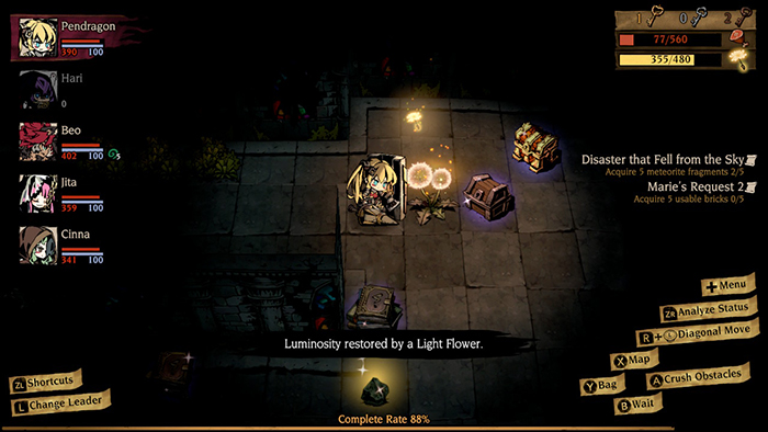 Mistover dungeon crawling
