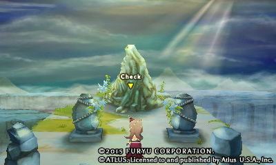 Strange Stone in the Deserted Village - The Legend of Legacy
