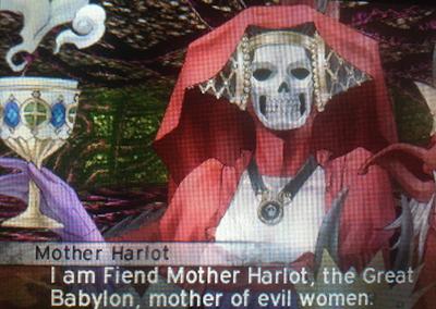 Mother Harlot in Shin Megami Tensei IV: Apocalypse