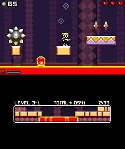 Mutant Mudds Gameplay (3DS and Wii U eShop)
