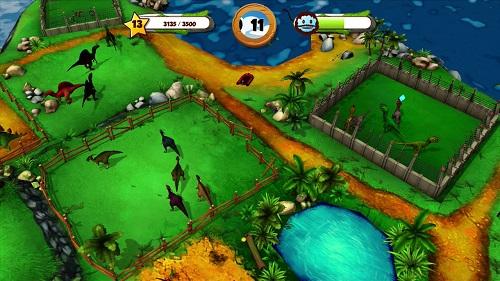 My Jurassic Farm Gameplay (Wii U)