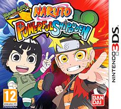 Naruto Powerful Shippuden Game Box Cover Art