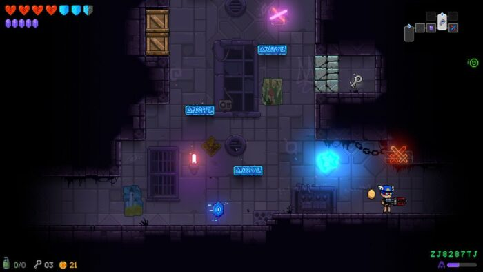 Rooms in Neon Abyss