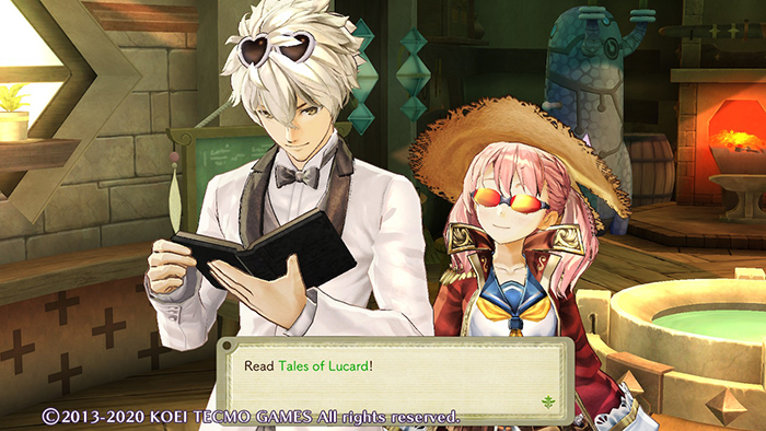 Logy and Escha in their Atelier in Atelier Escha & Logy: Alchemists of the Dusk Sky DX