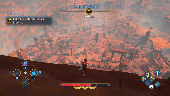 Nice view in Immortals Fenyx Rising