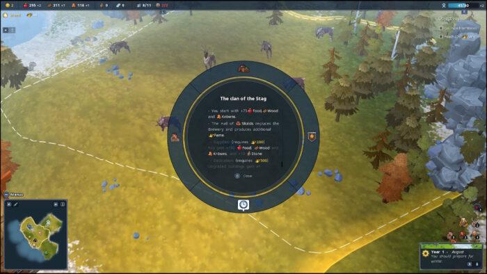 Northgard controls