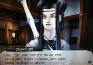 Okuninushi - Shin Megami Tensei IV