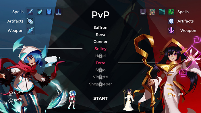 PvP in One Step From Eden