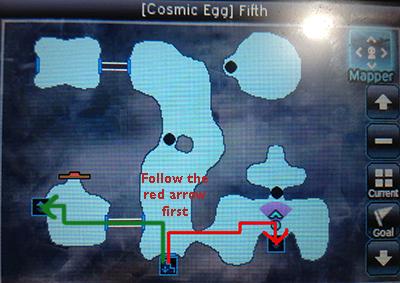 Opening Cosmic Egg Fifth Locked Door 1