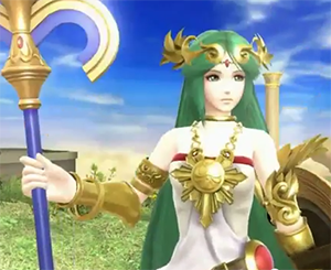 Palutena is a Playable Character in Super Smash Bros.