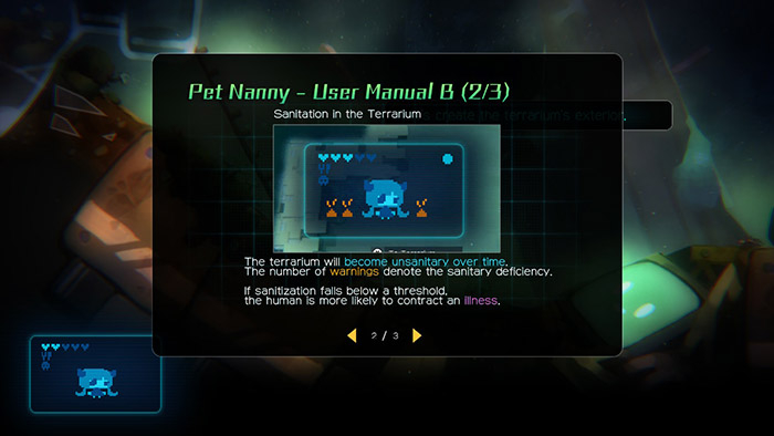 Pet Nanny in void tRrLM(); //Void Terrarium