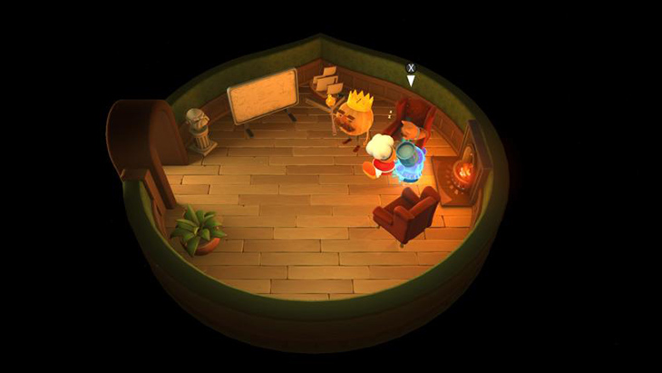Pet the Dog in Overcooked All You Can Eat