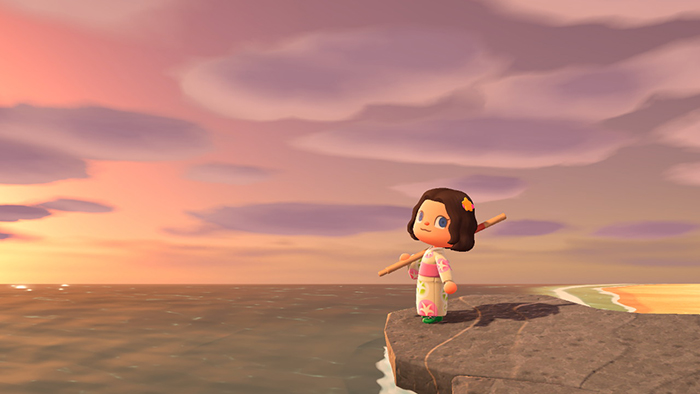 Good photo shot in Animal Crossing: New Horizons