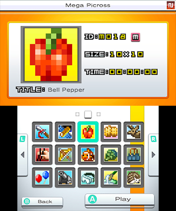 Picross e4 will be released on May 22nd in Europe