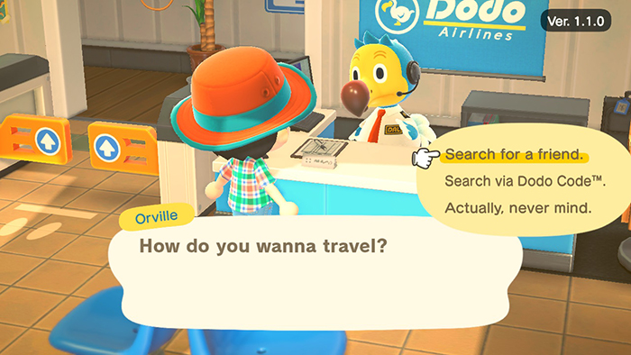 Playing online with people in Animal Crossing: New Horizons