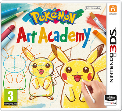 Pokémon Art Academy Cover