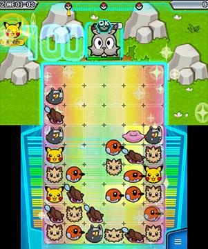 Pokemon Battle Trozei Gameplay - Bunnelby