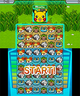 Pokemon Battle Trozei Gameplay - Pikachu