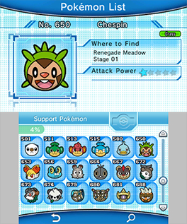 Pokemon Battle Trozei Pokemon List