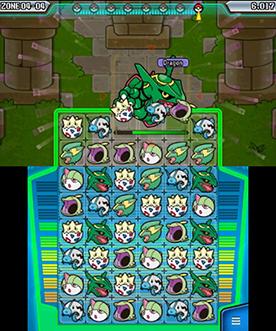 Pokemon Battle Trozei Gameplay - Rayquaza