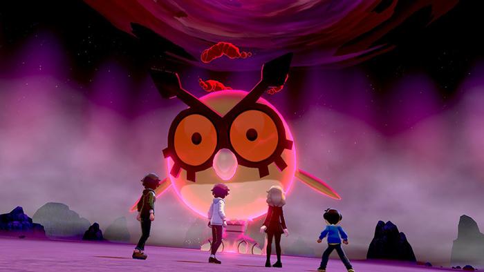 Max Raid in Pokemon Sword and Shield
