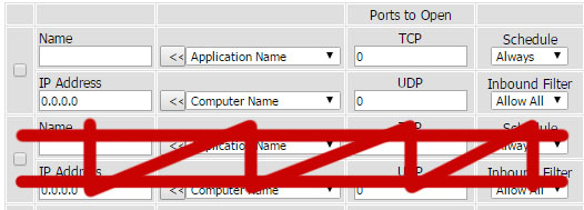 Port Forwarding on Router