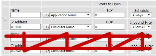 Port Forwarding on Router