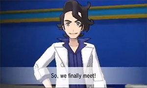 Photo of Professor Augustine Sycamore in Pokemon X and Pokemon Y