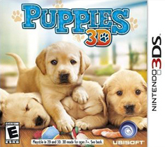Puppies 3D Game Box Cover Art