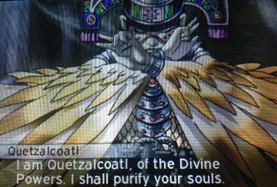 Quetzalcoatl in Shin Megami Tensei IV: Apocalypse
