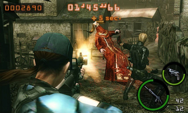 Resident Evil: The Mercenaries 3D Gameplay